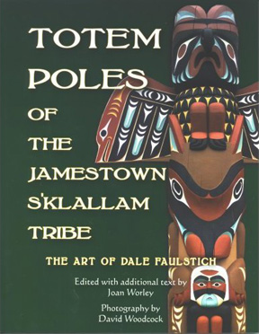Totem Poles of the Jameston S'Klallam Tribe
